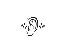 Hearing Logo Template Vector I...