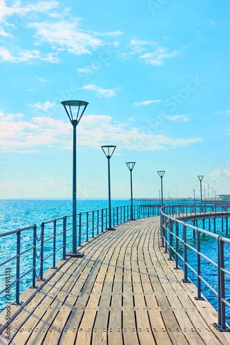 Fototapeta Seafront in Limassol,