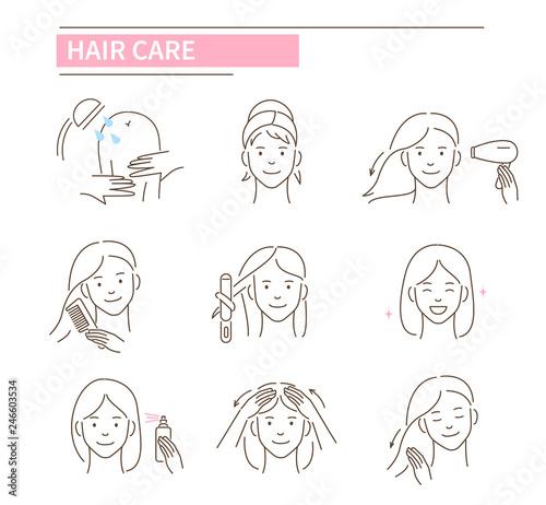 Cuadros en Lienzo hair care