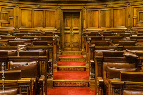 Fototapeta Chamber of Deputies, Legislative Palace, Uruguay