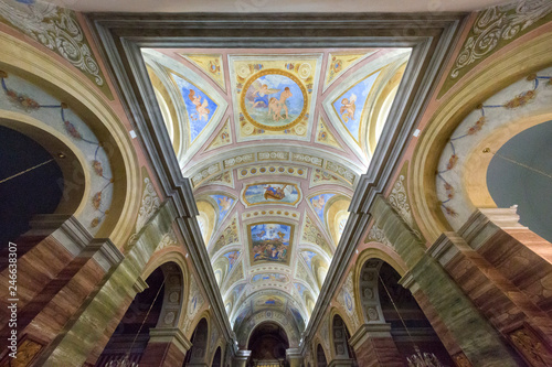 Fotografía Interno Chiesa Santa Maria della Neve - Orune (Cagliari) - Sardegna