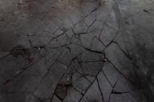 Black Broken Ice Texture