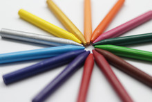 Picture Of Crayons.
