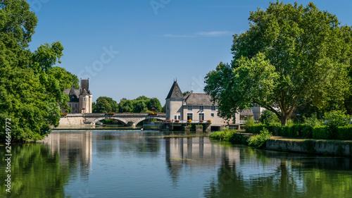Fotografie, Obraz  Château des Carmes, mairie de la ville de La Flèche dans la Sarthe