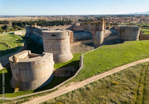 Fotobehang Historisch geb. Fort de Salses, France