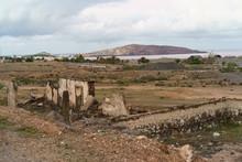 A Lone Dilapidated Building Ne...
