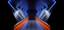 Neon Laser Glowing Cyber Sci F...