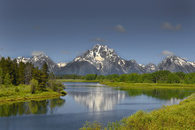 Snake River Is In Grand Teton National Park In Northwestern Wyoming. USA