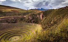 Incan Ruins In Peru