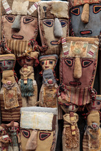 Peruvian Burial Dolls And Chan...