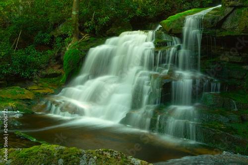Foto op Canvas Elakala Falls #2, West Virginia