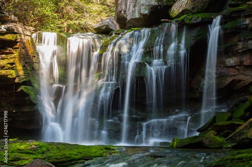 Recess Fitting Waterfalls Elakala Falls, West Virginia