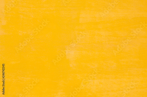 Canvas Print Yellow wall abstract background.