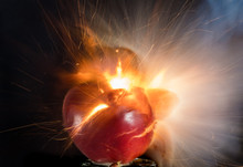 The Explosion Of An Apple And ...