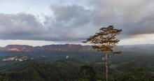 4K Time Lapse Doi Ta Pang View Point Chumphon Province Thailand.