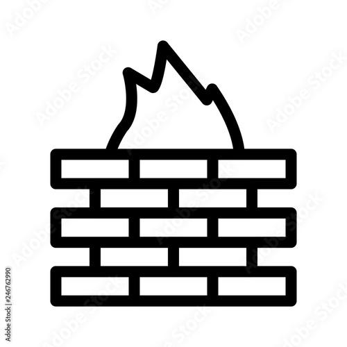 Fotografía  firewall   security   protection