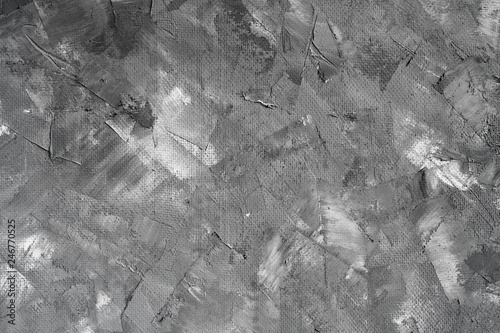 Fototapety, obrazy: Grey texture decorative stucco for backgrounds. Place for text layout abstract Venetian