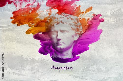 Roman Emperor Augustus Fototapete