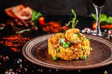 Concept Of Spanish Cuisine. Pa...