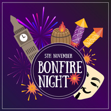 Bonfire Night Flayer Contains ...