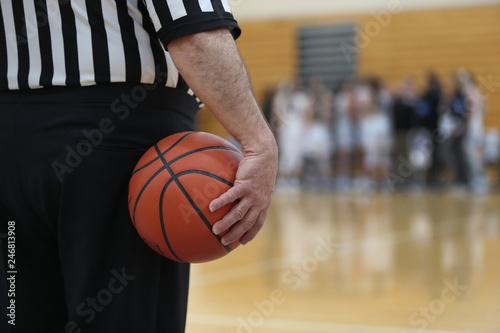 Fototapeta timeout during basketball game