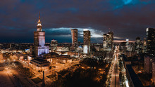 A Panorama Of Warsaw Downtown ...