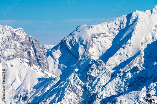 Winterlandschaft rund um die Steinplatte in Tirol #246827945