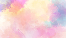 Watercolor Colorful Abstract B...