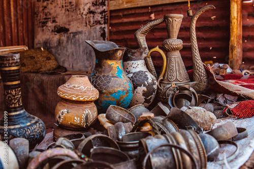 Souvenirs from Petra Wadi Musa Jordan Canvas-taulu