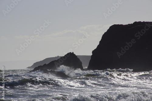 In de dag Kust Küste in Irland Waterford