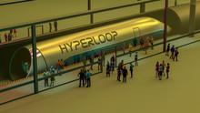Stazione Dei Treni E Hyperloop...