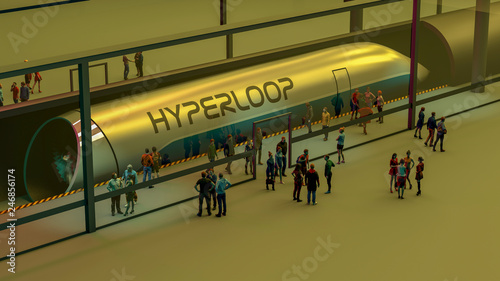 Fotografía Stazione dei treni e Hyperloop