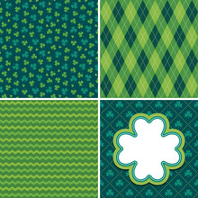 Set Of Seamless Vector Backgro...