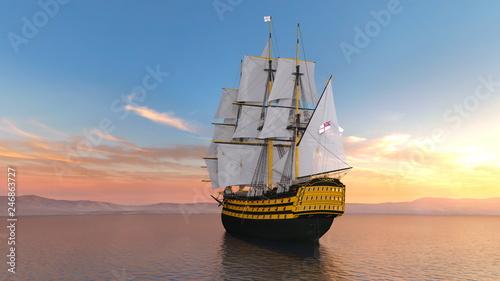 In de dag Schip 船