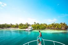 Paradise Island Ocean And Sky