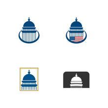 Set Of Capitol Dome Building I...