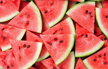 Slice Of Watermelon As Texture...