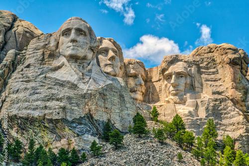 Mount Rushmore, iconic landmark Canvas Print