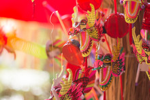 Chinese Dragon Puppet Toy
