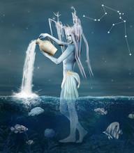 Zodiac Series - Aquarius As A ...