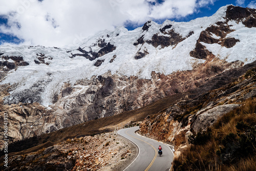 Fotografie, Obraz  Cycling the Great Divide in Peru