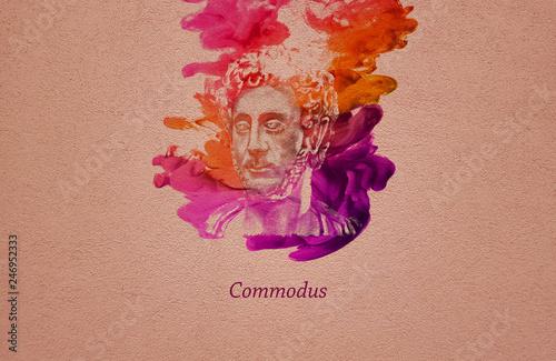 Photo  Roman Emperor Commodus