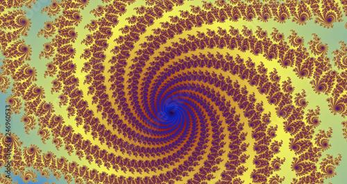 Printed kitchen splashbacks Spiral Spiralnebel