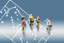 Taking Business Team Decisions Using Appropriate Tactics And Strategy