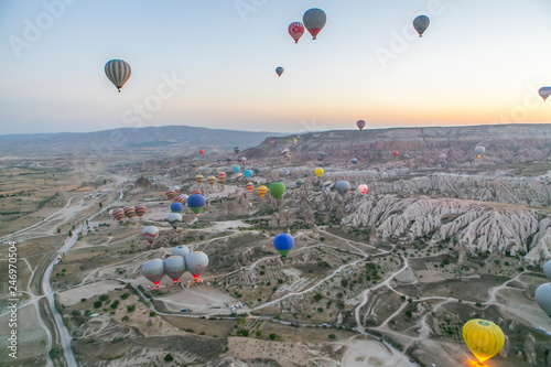 Paseo en globo de Capadocia  - 246970504