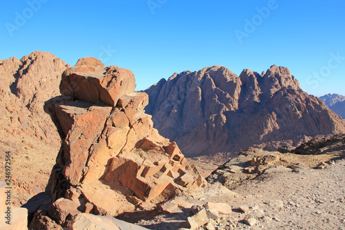 Moses Mountain, Sinai Peninsula, Egypt