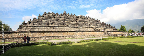 Deurstickers Asia land Indonesia (Java) - Candi Borobudur