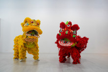 Manipulated China Lion.