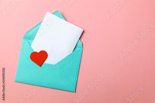 Love letter Fotobehang