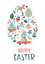 Funny Happy Easter Eggs Hunt G...